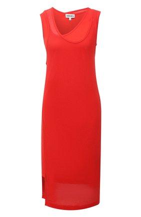 Женское хлопковое платье KENZO красного цвета, арт. FB52R07954SA | Фото 1