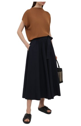 Женская хлопковая юбка WINDSOR темно-синего цвета, арт. 52 DR520H 10011495 | Фото 2