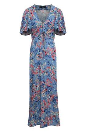 Женское платье из вискозы PIETRO BRUNELLI разноцветного цвета, арт. AG0446/VI0090/Q96A   Фото 1