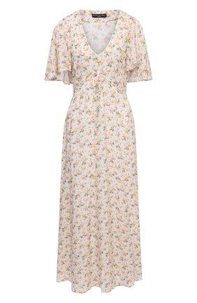 Женское платье из вискозы PIETRO BRUNELLI разноцветного цвета, арт. AGF446/VI0090/S137 | Фото 1