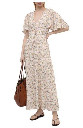 Женское платье из вискозы PIETRO BRUNELLI разноцветного цвета, арт. AGF446/VI0090/S137 | Фото 2