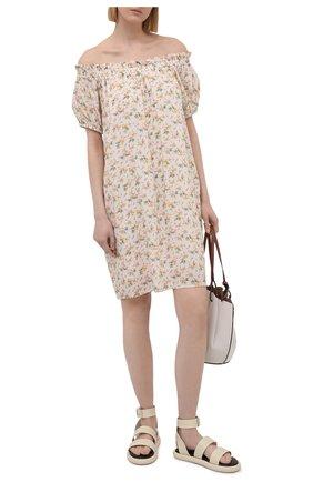 Женское платье из вискозы PIETRO BRUNELLI разноцветного цвета, арт. AM0455/VI0090/S137 | Фото 2
