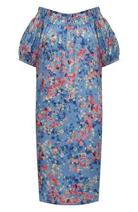 Женское платье из вискозы PIETRO BRUNELLI разноцветного цвета, арт. AM0455/VI0090/Q96A | Фото 1