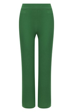 Женские брюки из шелка и хлопка LORO PIANA зеленого цвета, арт. FAL5795 | Фото 1
