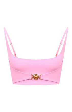 Женский бра-топ VERSACE розового цвета, арт. A88971/A101049 | Фото 1