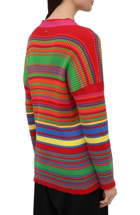 Женский хлопковый кардиган VERSACE разноцветного цвета, арт. A89294/A237539 | Фото 4