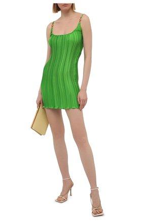 Женское платье VERSACE зеленого цвета, арт. A89018/1F00732 | Фото 2