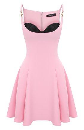 Женское платье VERSACE светло-розового цвета, арт. A88890/A236477 | Фото 1