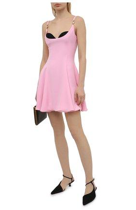 Женское платье VERSACE светло-розового цвета, арт. A88890/A236477 | Фото 2