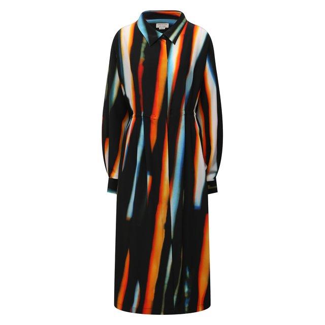 Шелковое платье Dries Van Noten