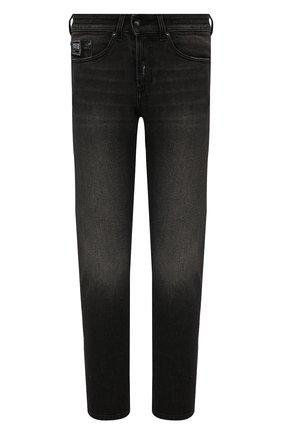 Мужские джинсы VERSACE JEANS COUTURE темно-серого цвета, арт. A2GWA0D5-WUP508/AJC81 | Фото 1