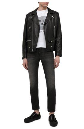 Мужские джинсы VERSACE JEANS COUTURE темно-серого цвета, арт. A2GWA0D5-WUP508/AJC81 | Фото 2