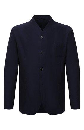Пиджак из хлопка и вискозы | Фото №1