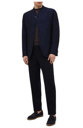 Пиджак из хлопка и вискозы | Фото №2