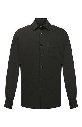 Мужская льняная рубашка ASPESI хаки цвета, арт. S1 A CE36 C195 | Фото 1