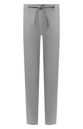 Мужские брюки CANALI светло-серого цвета, арт. V1659/EW03387 | Фото 1
