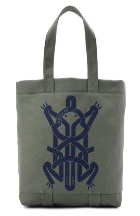 Текстильная сумка-шопер 5 Moncler Craig Green | Фото №1