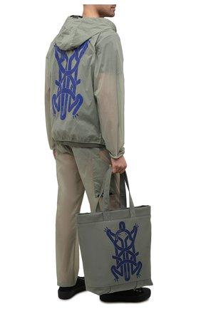 Текстильная сумка-шопер 5 Moncler Craig Green | Фото №2