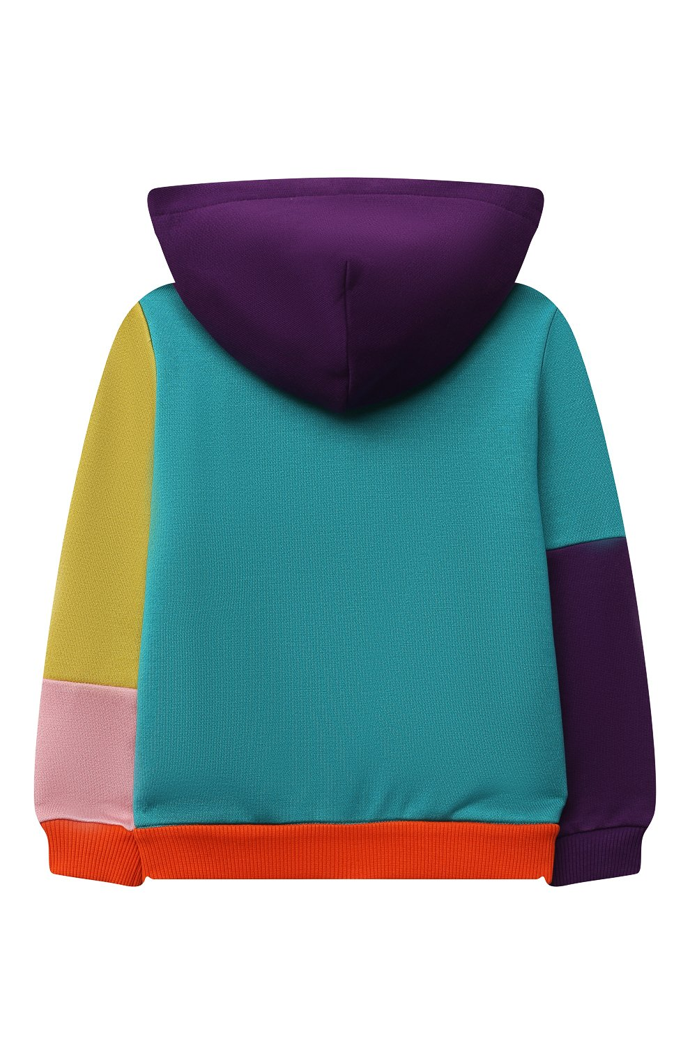 Детский хлопковая толстовка DOLCE & GABBANA разноцветного цвета, арт. L2JW3P/G7YQH   Фото 2
