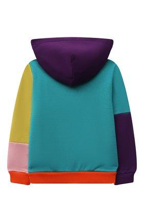 Детский хлопковая толстовка DOLCE & GABBANA разноцветного цвета, арт. L2JW3P/G7YQH | Фото 2