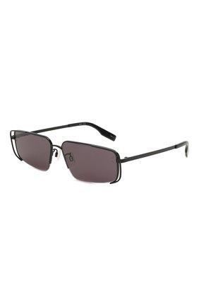 Женские солнцезащитные очки MCQ черного цвета, арт. MQ0311S 001 | Фото 1