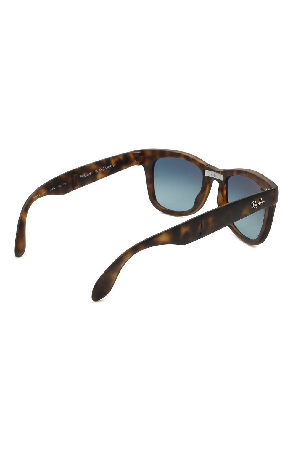 Женские солнцезащитные очки RAY-BAN коричневого цвета, арт. 4105-894/3M   Фото 5