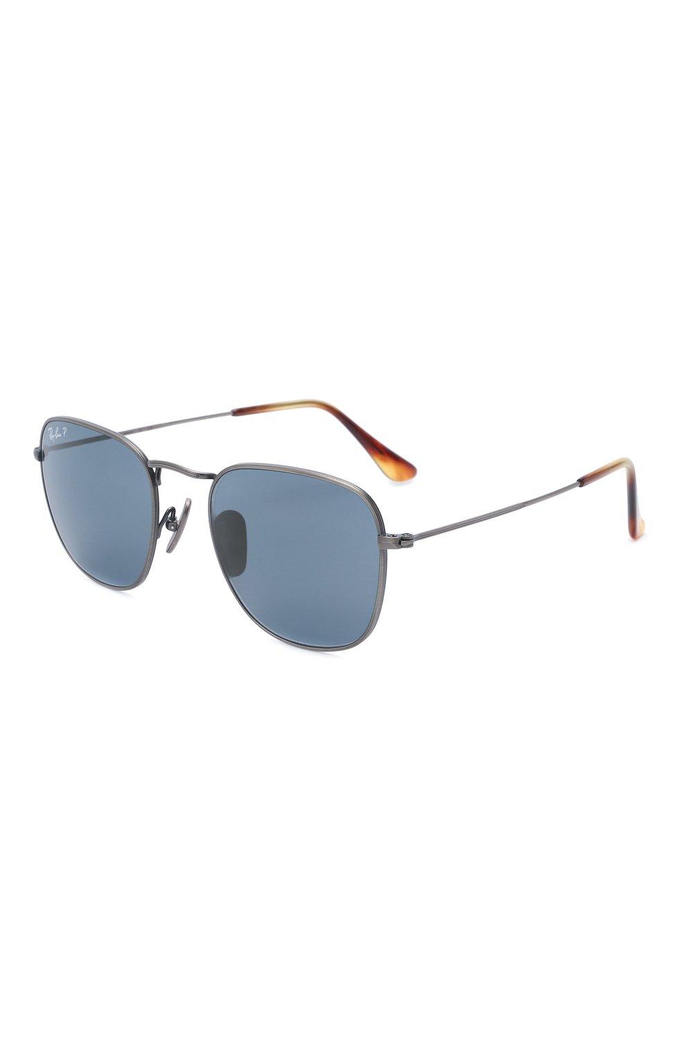Женские солнцезащитные очки RAY-BAN темно-синего цвета, арт. 8157-9208T0 | Фото 1