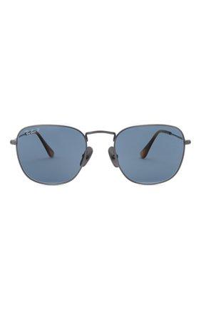 Женские солнцезащитные очки RAY-BAN темно-синего цвета, арт. 8157-9208T0 | Фото 4