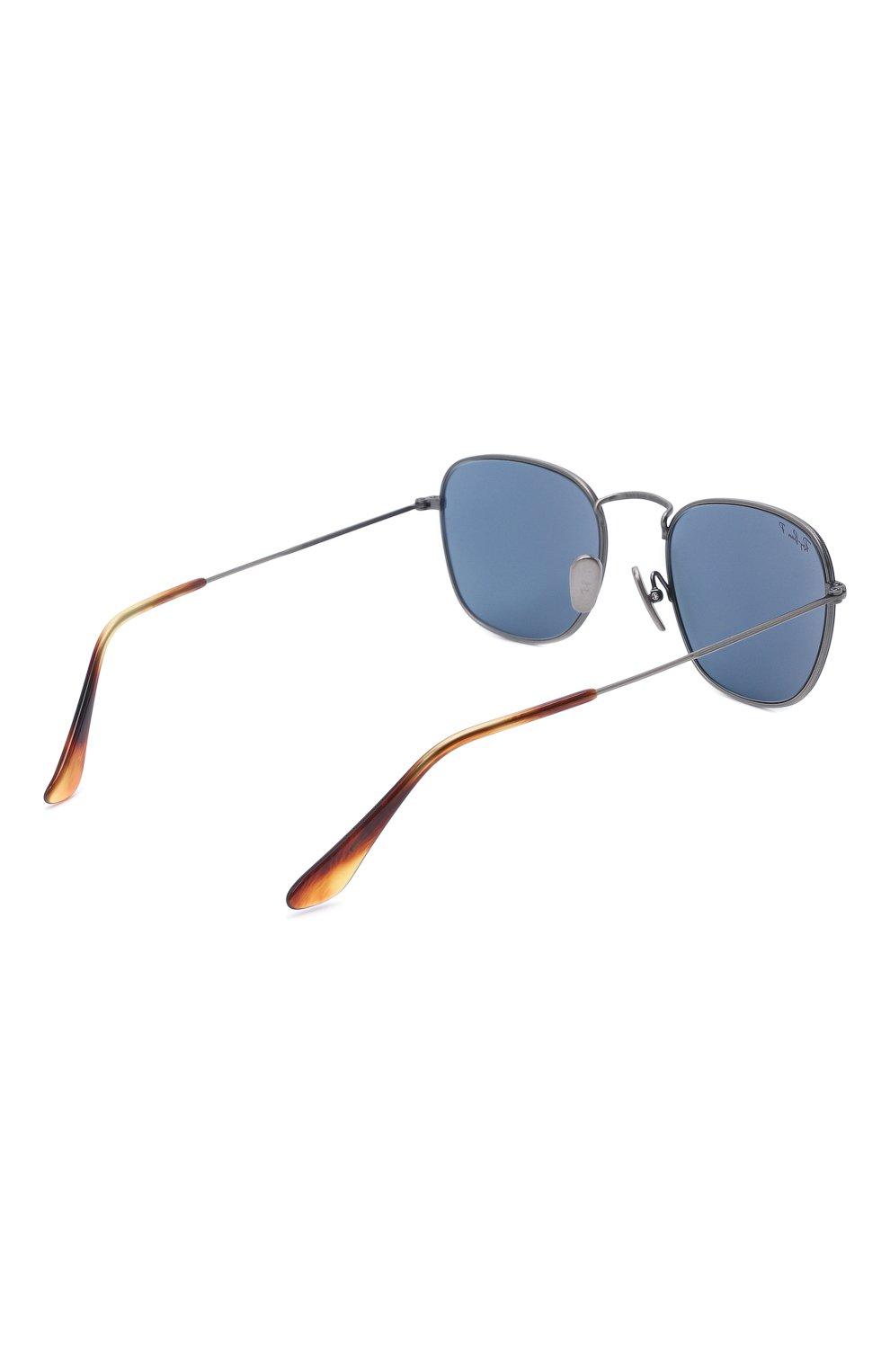 Женские солнцезащитные очки RAY-BAN темно-синего цвета, арт. 8157-9208T0 | Фото 5