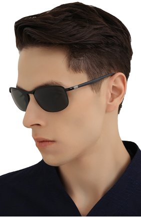 Мужские солнцезащитные очки RAY-BAN черного цвета, арт. 3671-186/31 | Фото 2