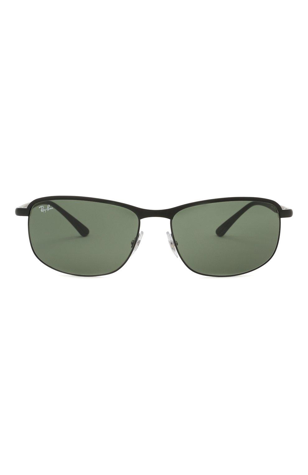 Мужские солнцезащитные очки RAY-BAN черного цвета, арт. 3671-186/31 | Фото 3