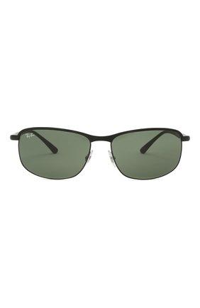 Мужские солнцезащитные очки RAY-BAN черного цвета, арт. 3671-186/31   Фото 3