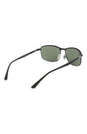 Мужские солнцезащитные очки RAY-BAN черного цвета, арт. 3671-186/31 | Фото 4