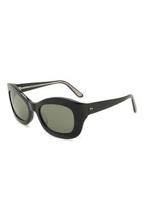 Женские солнцезащитные очки OLIVER PEOPLES черного цвета, арт. 5441SU-10059A | Фото 1