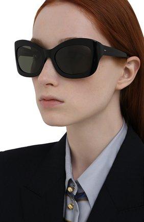 Женские солнцезащитные очки OLIVER PEOPLES черного цвета, арт. 5441SU-10059A | Фото 2