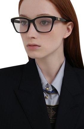 Женские оправа DOLCE & GABBANA черного цвета, арт. 5064-501 | Фото 2 (Тип очков: Оправа; Оптика Гендер: оптика-женское; Очки форма: Прямоугольные)