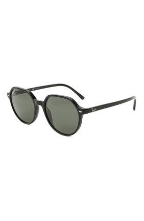 Женские солнцезащитные очки RAY-BAN черного цвета, арт. 2195-901/58 | Фото 1