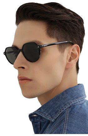 Женские солнцезащитные очки RAY-BAN черного цвета, арт. 2195-901/58 | Фото 3