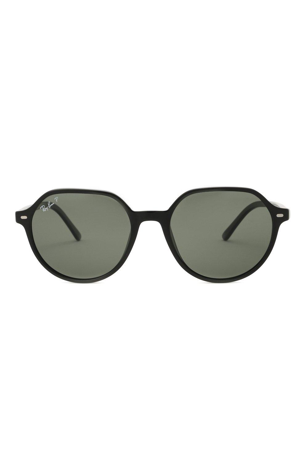 Женские солнцезащитные очки RAY-BAN черного цвета, арт. 2195-901/58 | Фото 4