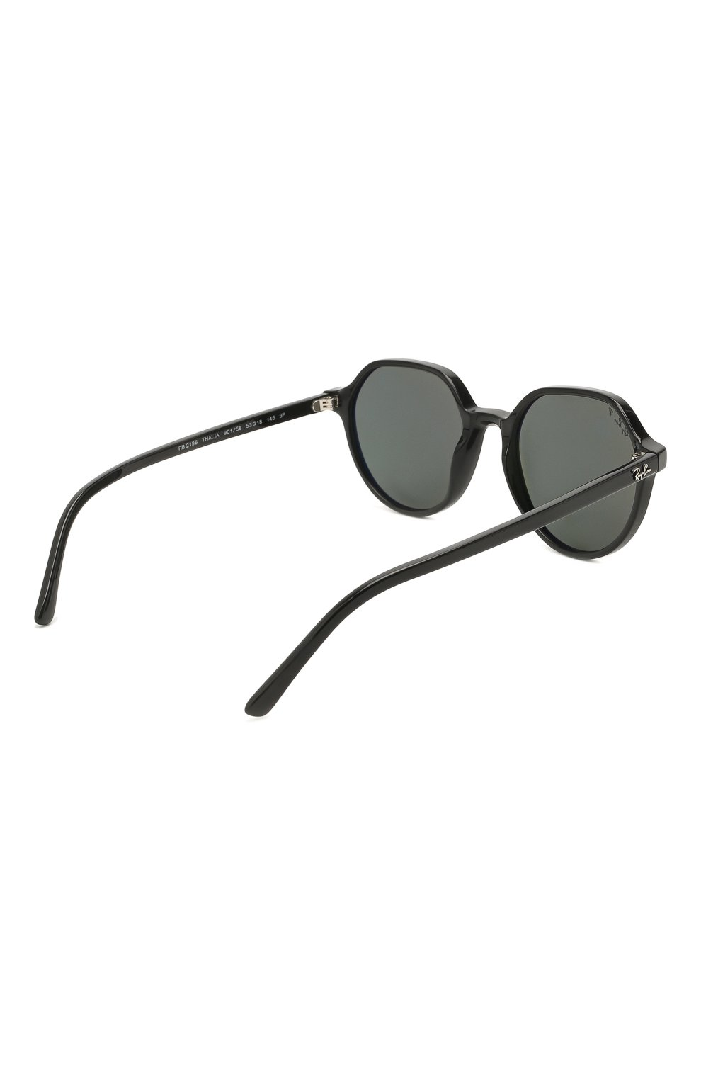 Женские солнцезащитные очки RAY-BAN черного цвета, арт. 2195-901/58 | Фото 5