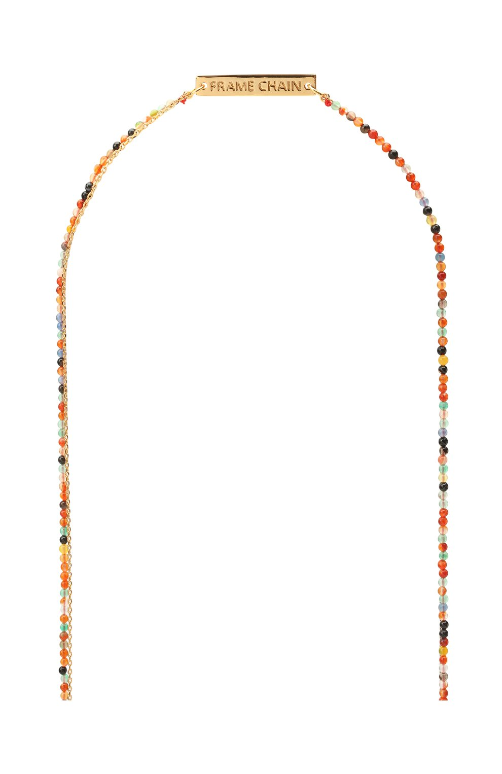 Женские цепочка для очков FRAME CHAIN разноцветного цвета, арт. IT`S A WRAP YELL0W G0LD   Фото 3 (Тип очков: Цепочка)