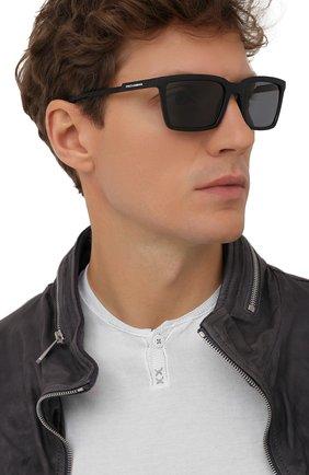 Мужские солнцезащитные очки DOLCE & GABBANA черного цвета, арт. 6151-252581 | Фото 2