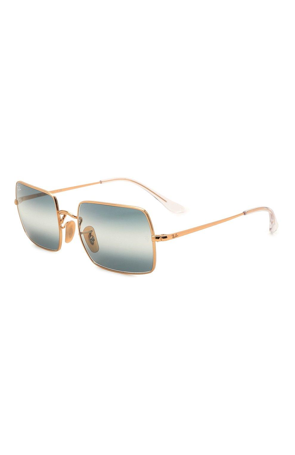 Женские солнцезащитные очки RAY-BAN синего цвета, арт. 1969-001/GA | Фото 1
