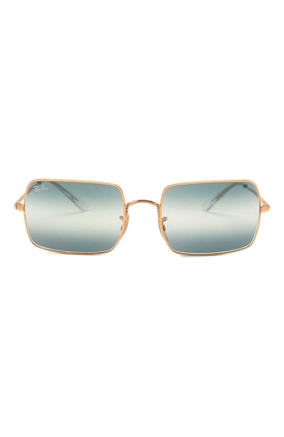 Женские солнцезащитные очки RAY-BAN синего цвета, арт. 1969-001/GA | Фото 4