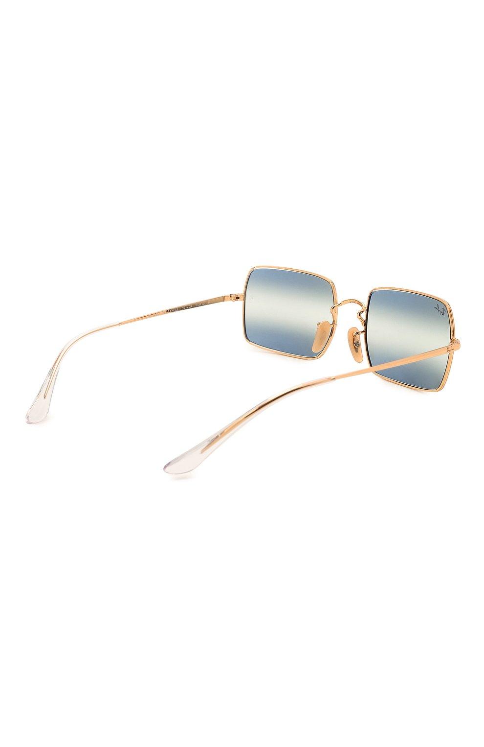 Женские солнцезащитные очки RAY-BAN синего цвета, арт. 1969-001/GA | Фото 5