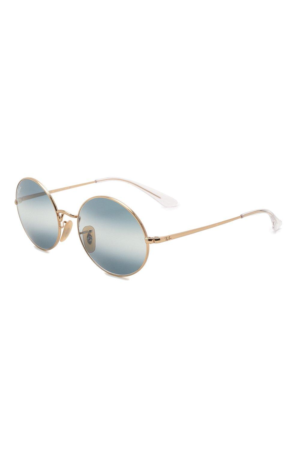 Женские солнцезащитные очки RAY-BAN синего цвета, арт. 1970-001/GA   Фото 1