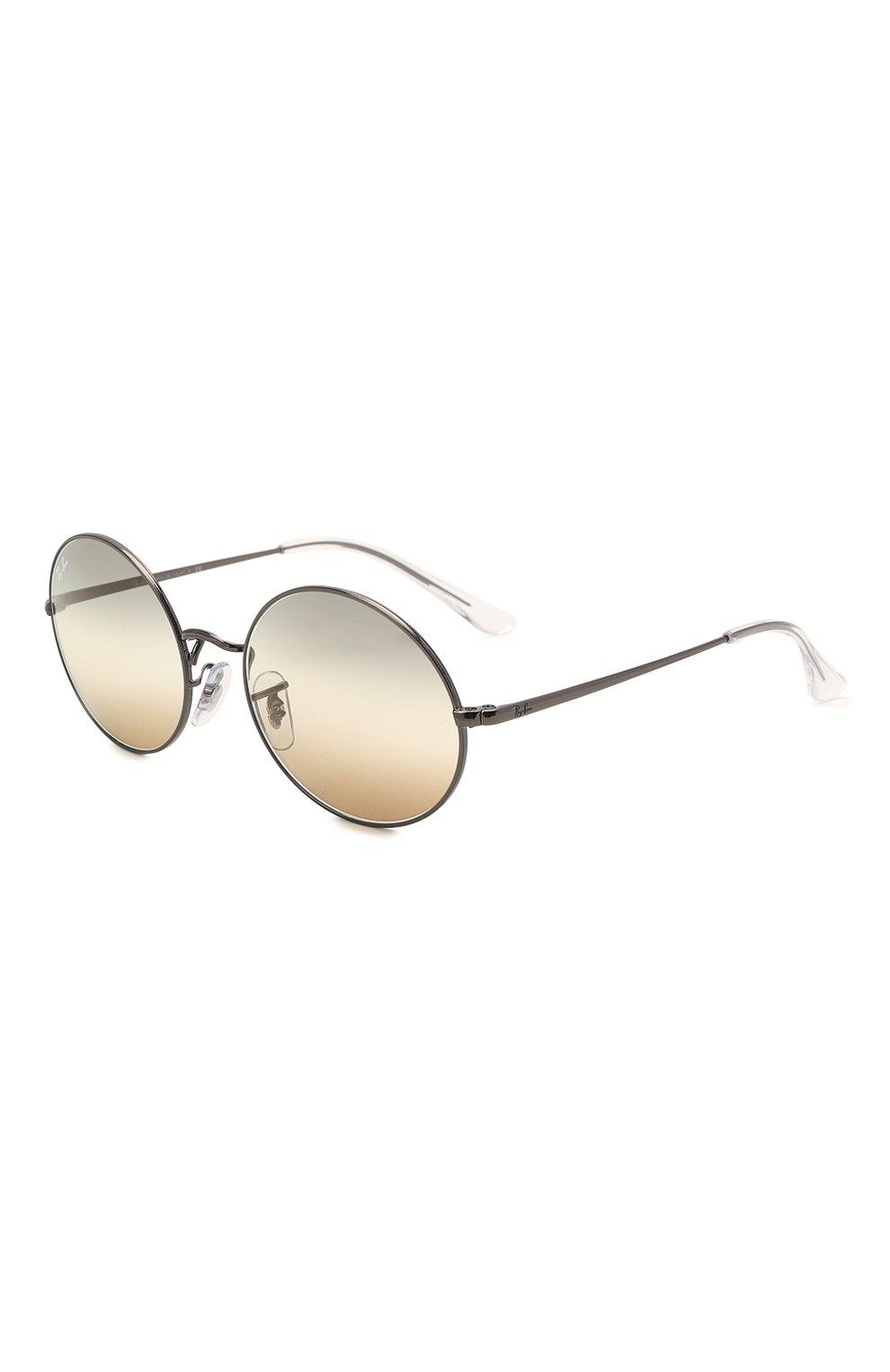 Женские солнцезащитные очки RAY-BAN серого цвета, арт. 1970-004/GH | Фото 1