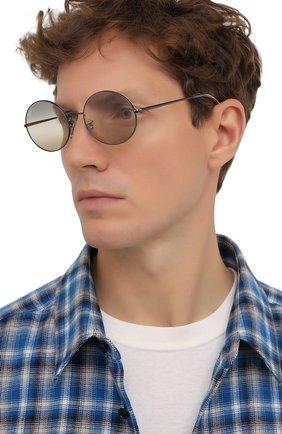 Женские солнцезащитные очки RAY-BAN серого цвета, арт. 1970-004/GH | Фото 3