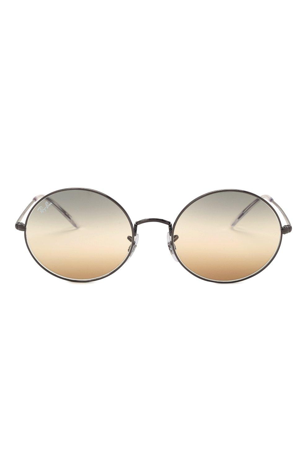Женские солнцезащитные очки RAY-BAN серого цвета, арт. 1970-004/GH | Фото 4