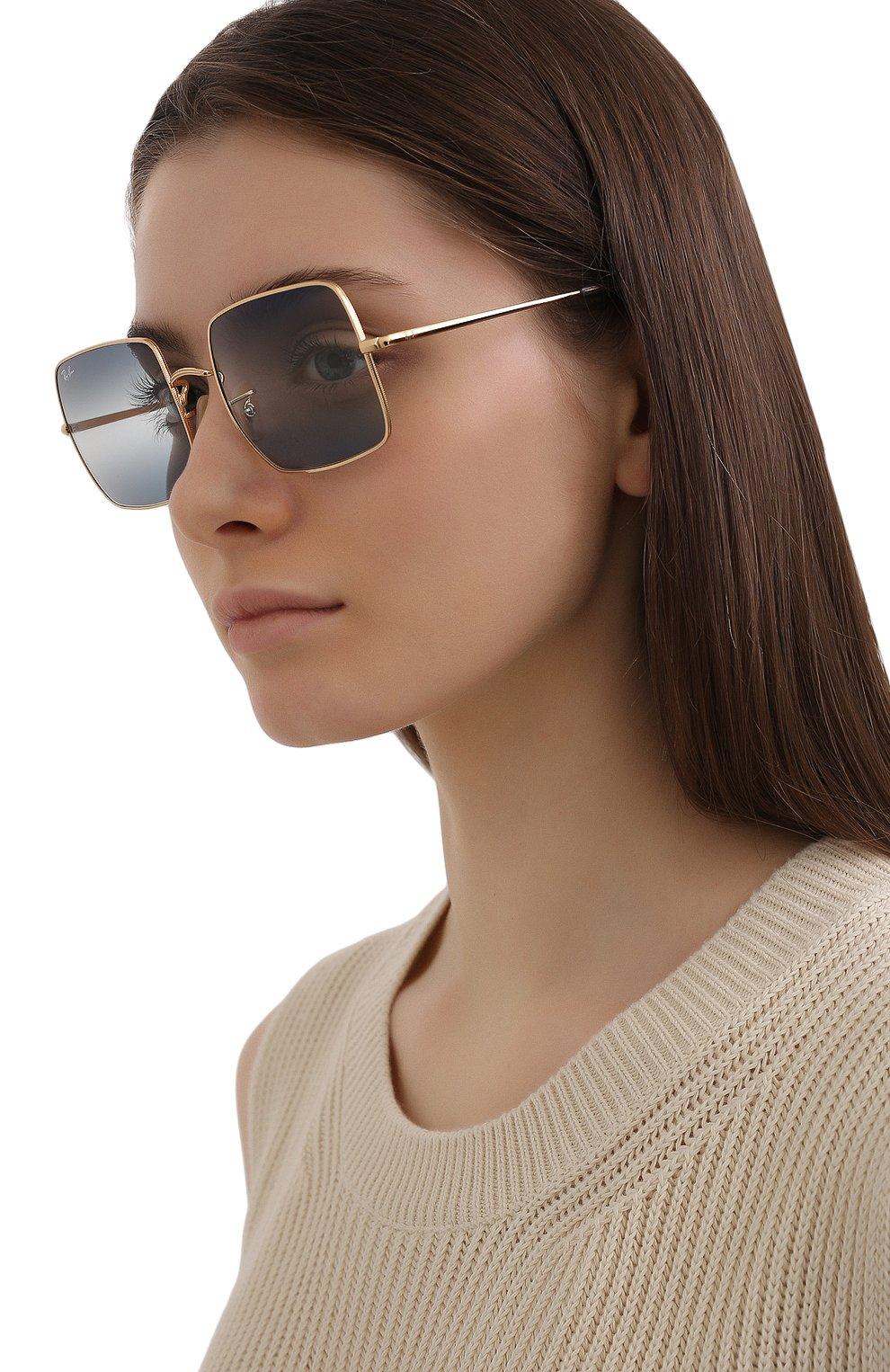 Женские солнцезащитные очки RAY-BAN синего цвета, арт. 1971-001/GA | Фото 2